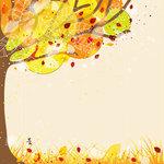 Ella and Viv Paper Company - Autumn Inspired Collection - 12 x 12 Paper - Autumn Splendor