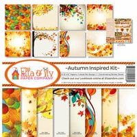 Ella and Viv Paper Company - Autumn Inspired Collection - 12 x 12 Collection Kit