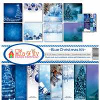 Ella and Viv Paper Company - Blue Christmas Collection - 12 x 12 Collection Kit