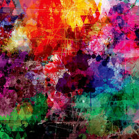 Ella and Viv Paper Company - Graffiti Collection - 12 x 12 Paper - Diamonds