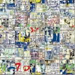Ella and Viv Paper Company - Graffiti Collection - 12 x 12 Paper - Word