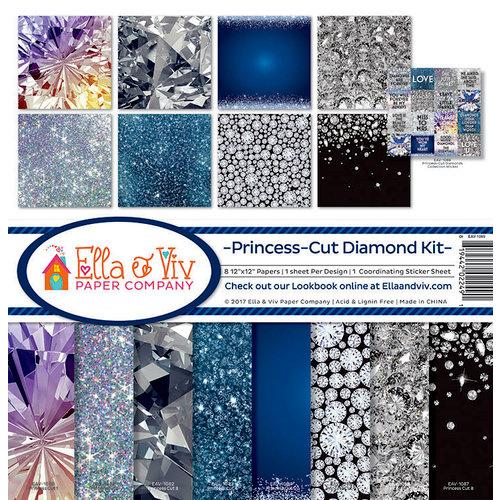 Ella and Viv Paper Company - Princess Cut Collection - 12 x 12 Collection Kit