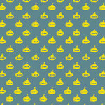 Ella and Viv Paper Company - Groovy Collection - 12 x 12 Paper - Land of Submarines