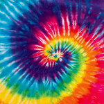Ella and Viv Paper Company - Groovy Collection - 12 x 12 Paper - Tie-Dye