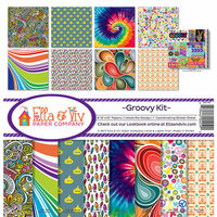 Ella and Viv Paper Company - Groovy Collection - 12 x 12 Collection Kit