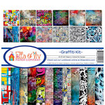 Ella and Viv Paper Company - Graffiti Collection - 12 x 12 Collection Kit