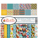 Ella and Viv Paper Company - Mid Century Modern Collection - 12 x 12 Collection Kit