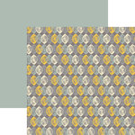 Ella and Viv Paper Company - IKat Collection - 12 x 12 Double Sided Paper - Boho