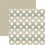 Ella and Viv Paper Company - IKat Collection - 12 x 12 Double Sided Paper - Polka Dot