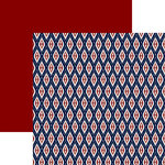 Ella and Viv Paper Company - IKat Collection - 12 x 12 Double Sided Paper - Far East