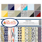 Ella and Viv Paper Company - IKat Collection - 12 x 12 Collection Kit