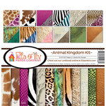 Ella and Viv Paper Company - Animal Kingdom Collection - 12 x 12 Collection Kit