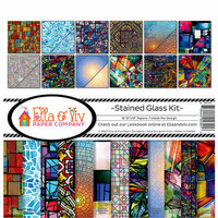 Ella and Viv Paper Company - Stained Glass Collection - 12 x 12 Collection Kit