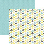 Ella and Viv Paper Company - Bohemian Collection - 12 x 12 Double Sided Paper - Boho Triangles