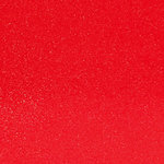 Ella and Viv Paper Company - Sparkle Collection - 12 x 12 Glitter Paper - Rockin' Red