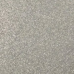Ella and Viv Paper Company - Sparkle Collection - 12 x 12 Glitter Paper - Pewter