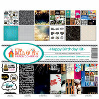 Ella and Viv Paper Company - Happy Birthday Collection - 12 x 12 Collection Kit