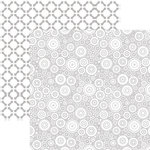 Ella and Viv Paper Company - 50 Shades Collection - 12 x 12 Double Sided Paper - Geometric