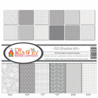 Ella and Viv Paper Company - 50 Shades Collection - 12 x 12 Collection Kit