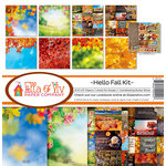 Ella and Viv Paper Company - Hello Fall Collection - 12 x 12 Collection Kit