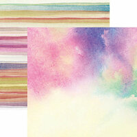 Ella and Viv Paper Company - Sympathy Collection - 12 x 12 Double Sided Paper - Grace