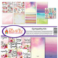 Ella and Viv Paper Company - Sympathy Collection - 12 x 12 Collection Kit
