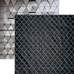 Ella and Viv Paper Company - Urban Excursion Collection - 12 x 12 Double Sided Paper - Fences