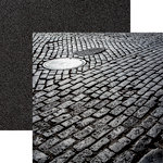 Ella and Viv Paper Company - Urban Excursion Collection - 12 x 12 Double Sided Paper - Cobblestone