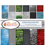Ella and Viv Paper Company - Urban Excursion Collection - 12 x 12 Collection Kit