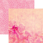 Ella and Viv Paper Company - Dragonfly Collection - 12 x 12 Double Sided Paper - Be Brave