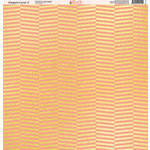 Ella and Viv Paper Company - Elegant Coral Collection - 12 x 12 Paper - Five