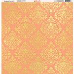Ella and Viv Paper Company - Elegant Coral Collection - 12 x 12 Paper - Nine