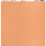 Ella and Viv Paper Company - Elegant Coral Collection - 12 x 12 Paper - Eleven