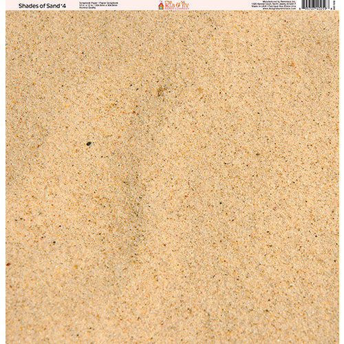 Ella and Viv Paper Company - Shades of Sand Collection - 12 x 12 Paper - Four