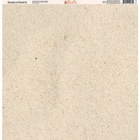 Ella and Viv Paper Company - Shades of Sand Collection - 12 x 12 Paper - Six