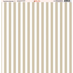 Ella and Viv Paper Company - Sunshine Damask Collection - 12 x 12 Paper - Seven