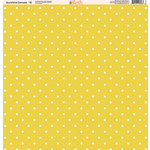 Ella and Viv Paper Company - Sunshine Damask Collection - 12 x 12 Paper - Ten