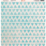 Ella and Viv Paper Company - Tribal Tie Dye Collection - 12 x 12 Paper - Seven