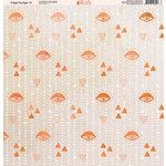 Ella and Viv Paper Company - Tribal Tie Dye Collection - 12 x 12 Paper - Eleven