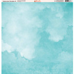 Ella and Viv Paper Company - Watercolor Paradise Collection - 12 x 12 Paper - Eight