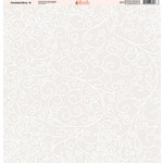 Ella and Viv Paper Company - Wedded Bliss Collection - 12 x 12 Paper - Eight
