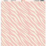 Ella and Viv Paper Company - Wild Pink Collection - 12 x 12 Paper - Four