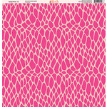 Ella and Viv Paper Company - Wild Pink Collection - 12 x 12 Paper - Six