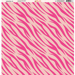 Ella and Viv Paper Company - Wild Pink Collection - 12 x 12 Paper - Eight