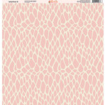 Ella and Viv Paper Company - Wild Pink Collection - 12 x 12 Paper - Nine