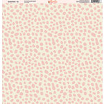 Ella and Viv Paper Company - Wild Pink Collection - 12 x 12 Paper - Ten