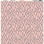 Ella and Viv Paper Company - Wild Pink Collection - 12 x 12 Paper - Eleven