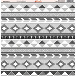 Ella and Viv Paper Company - Shades of Aztec Collection - 12 x 12 Paper - Eleven