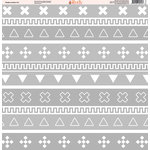 Ella and Viv Paper Company - Shades of Aztec Collection - 12 x 12 Paper - Twelve