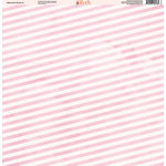 Ella and Viv Paper Company - Watercolor Kisses Collection - 12 x 12 Paper - Two